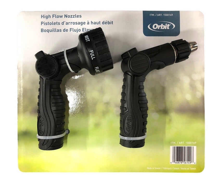 Orbit High Flow Watering Nozzles 2 Pack