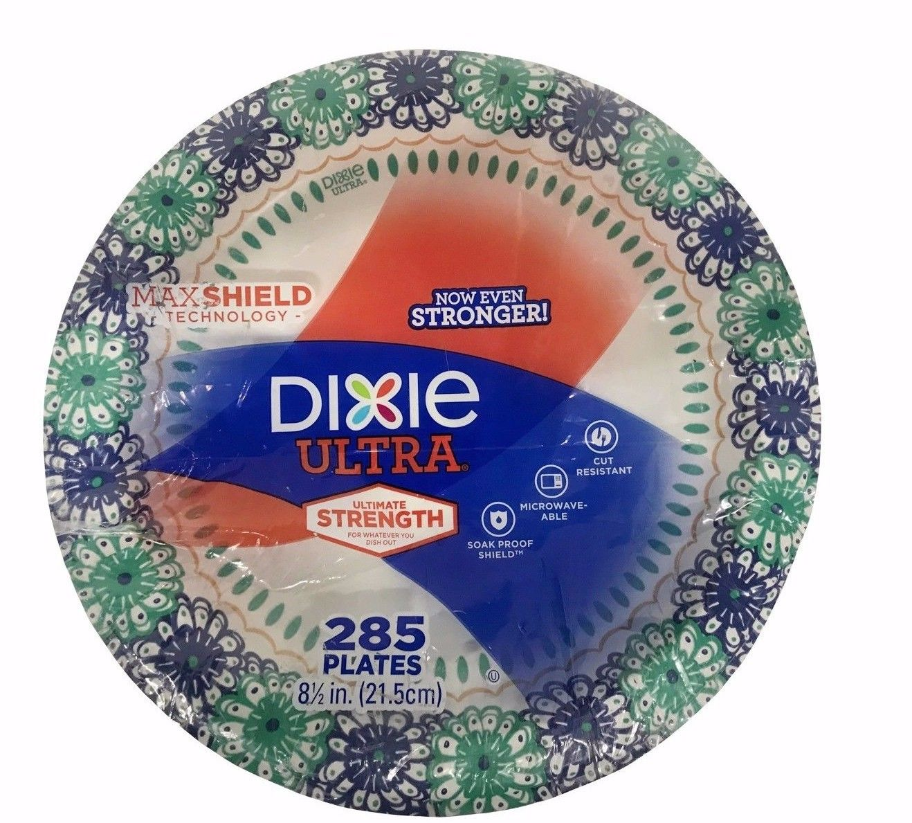 Dixie Ultra 8.5 Inch Max Shield Paper Plates Strong \u0026 Cut-Resistant 285 Ct  sc 1 st  Gainmart Premium & Dixie Ultra 8.5 Inch Max Shield Paper Plates Strong \u0026 Cut-Resistant ...