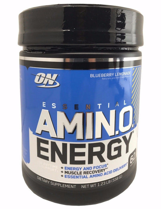 Optimum Nutrition Essential Amino Energy Blueberry Lemonade Supplement 1.23 LB