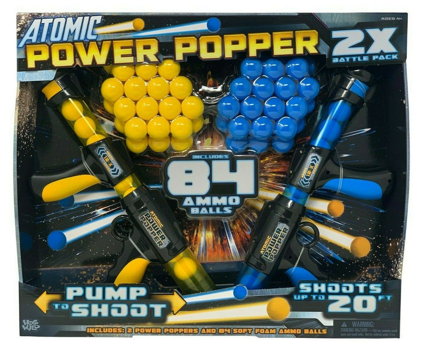 Hog Wild Atomic Power Poppers 2X Battle Pack