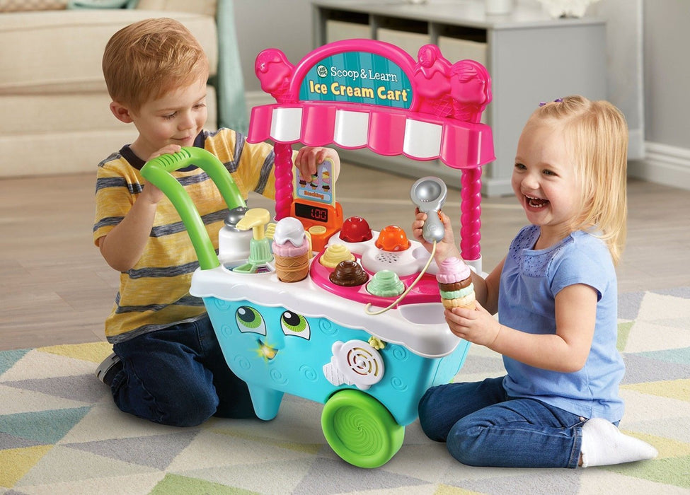Vtech Leap Frog Scoop & Learn Ice Cream Cart 20+ Pieces