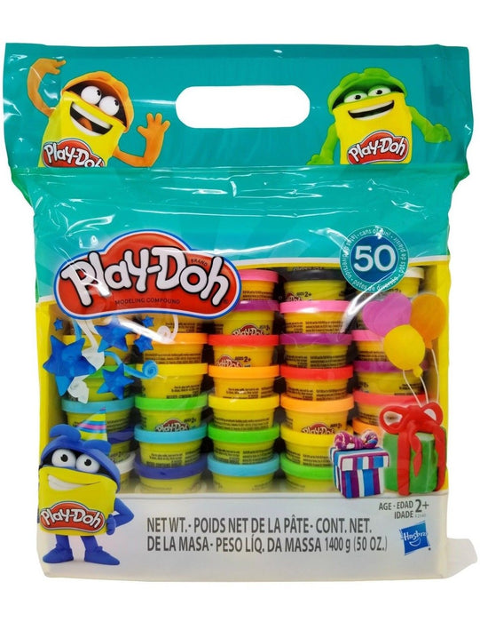 Play-Doh Hasbro Modeling Clay Compound 50 Cans - Mix Colors