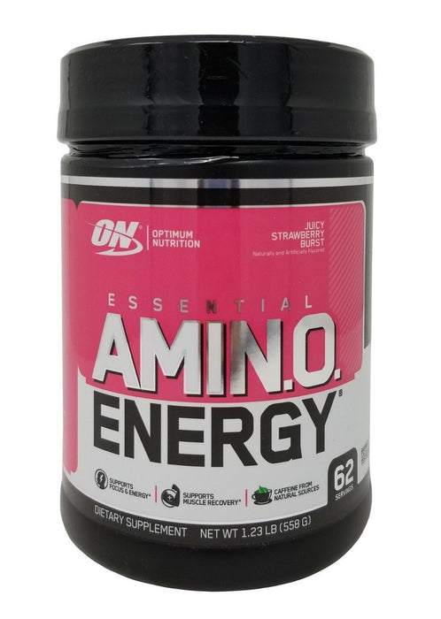 Optimum Nutrition Essential Amino Energy Juicy Strawberry 62 Servings 1.23 LB