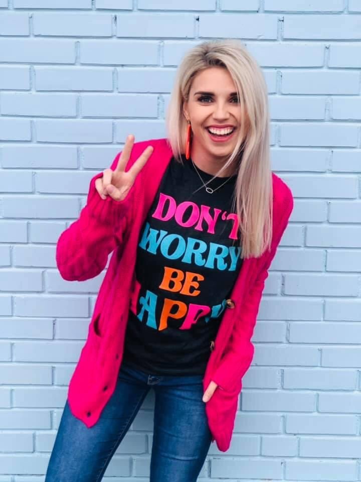 Don't Worry, Be Happy Tee