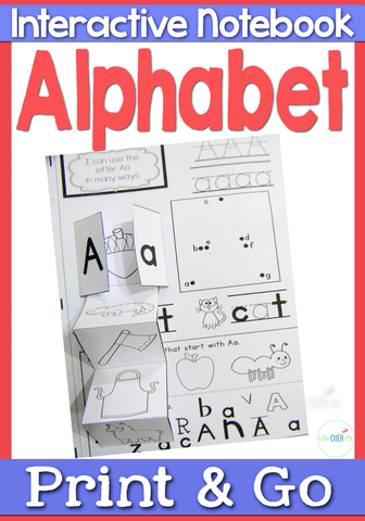 Alphabet Interactive Notebook