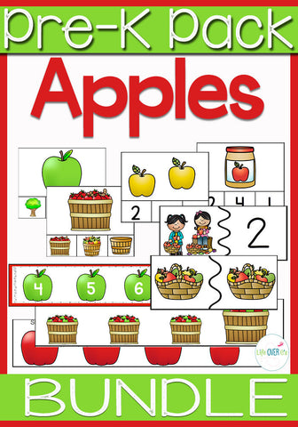Apple Activity Pack Preschool & Kindergarten