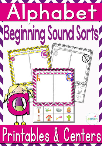 Alphabet Beginning Sound Sorts