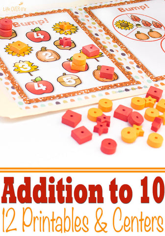 Making 10 Centers & Activities for Fall