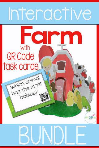 Farm Interactive Activity Mega Pack 3-D Farm Diorama