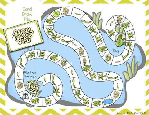 Frog Pond: A Frog Life Cycle Game