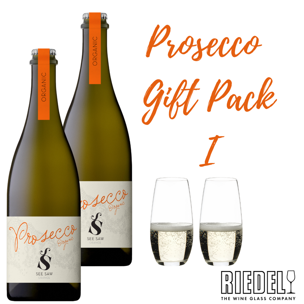 Prosecco and Riedel Glassware Gift Pack I
