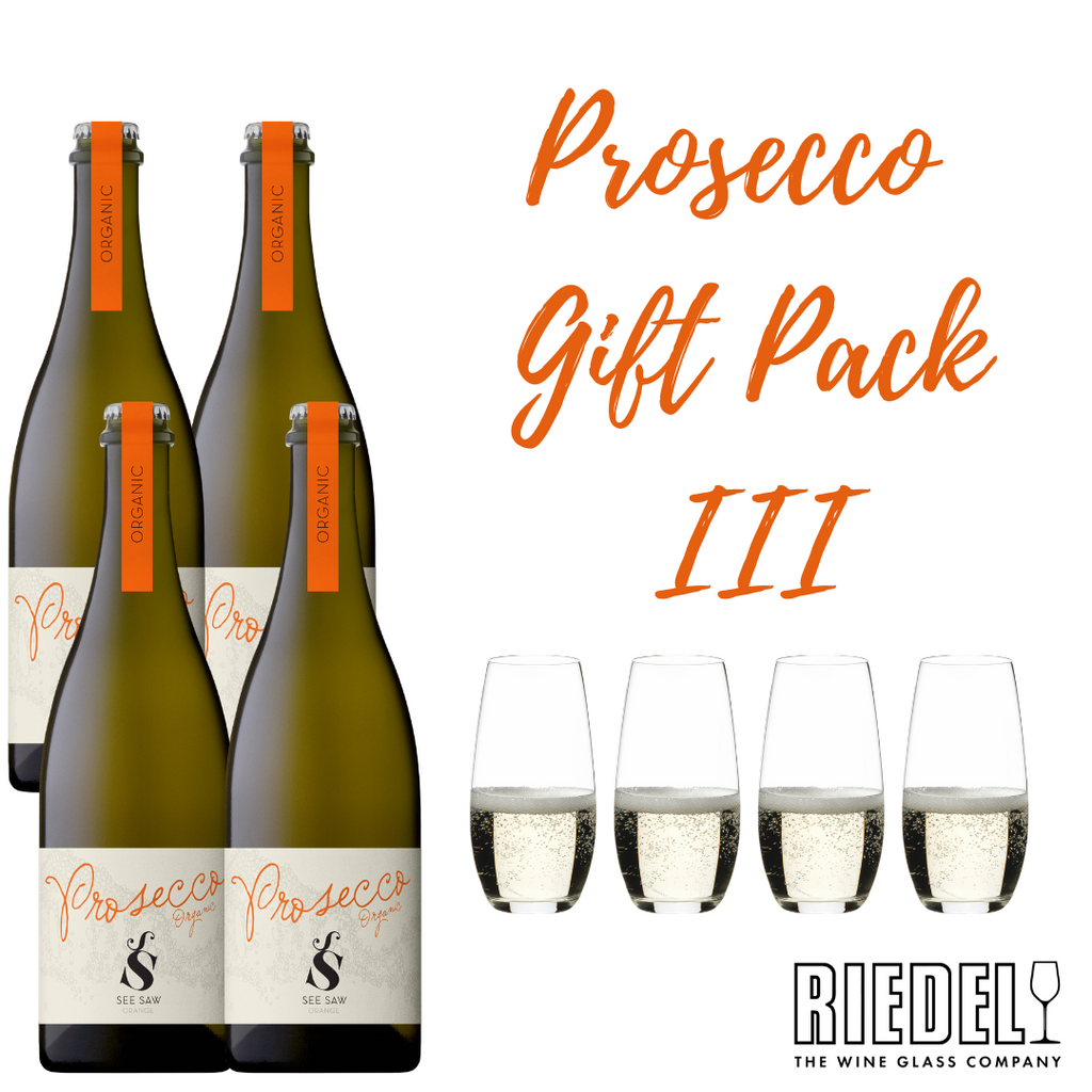 Prosecco and Riedel Glassware Gift Pack III