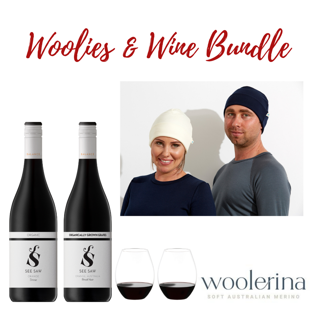 Woolies and Wine Winter Bundle