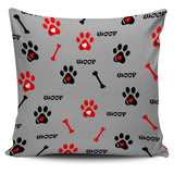 Dog Paw Pillow Covers