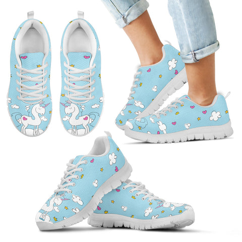 Kid's Sneakers Unicorn Cartoon - FREE SHIPPING