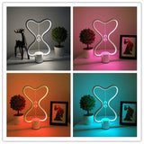 Magnetic Balance LED Night Light Table Lamp - 3 Shapes - USB Powered
