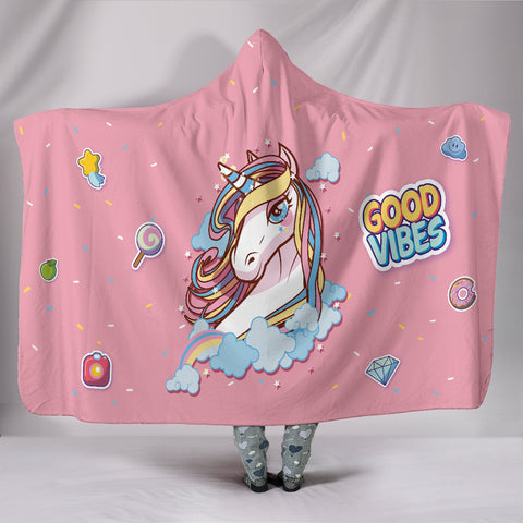 Custom Hoodie Blanket - I'm a Unicorn - FREE SHIPPING