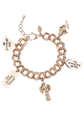 Message Charm Bracelet <br/> Rose Gold