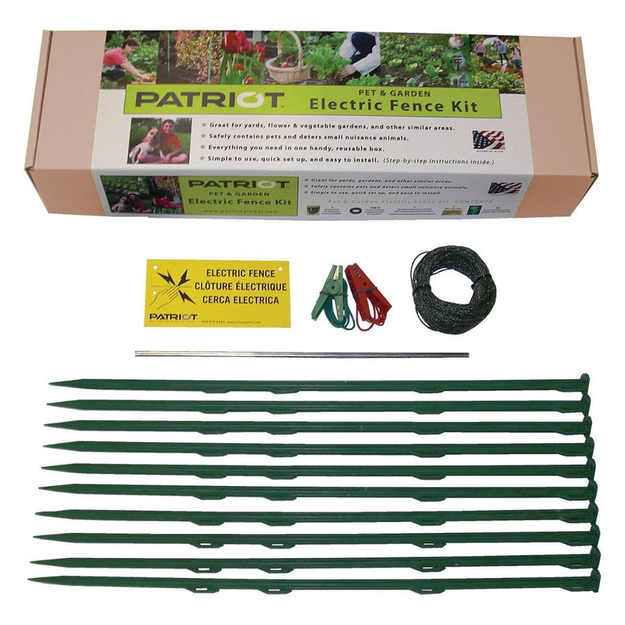 Patriot Pet and Garden Electric Fence Accesory Kit