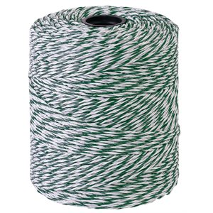 Beaumont Twisted Green And White Wire 0.15mm X 400m