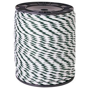 Beaumont Twisted Green / White Rope 200m Classic