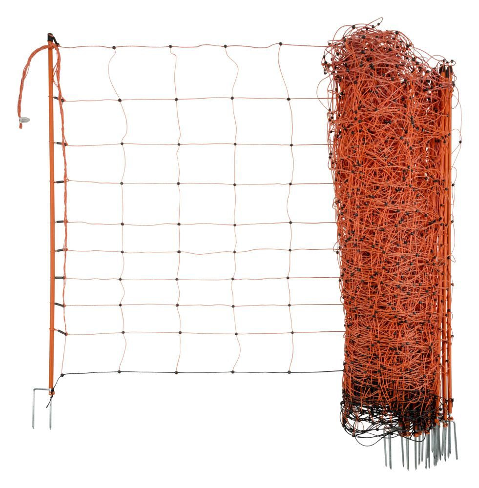 "Ovinet Electric Sheep Netting 0.9m (36"") tall 50m long Double Spiked"