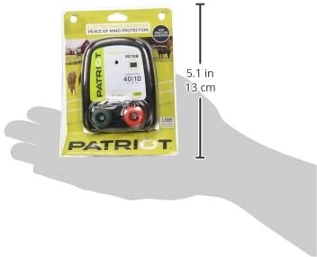 Patriot Pe10B, Battery Fence Energizer