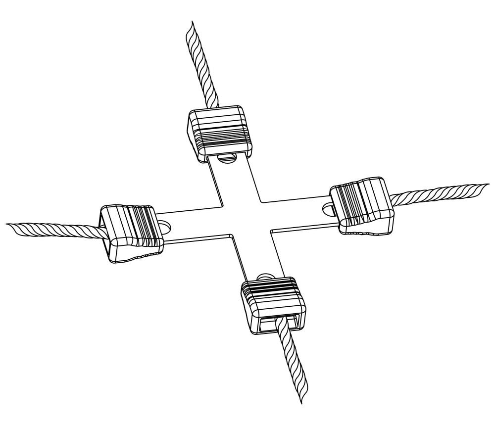Litzclip® Wire Cross-Connector 5 pkg