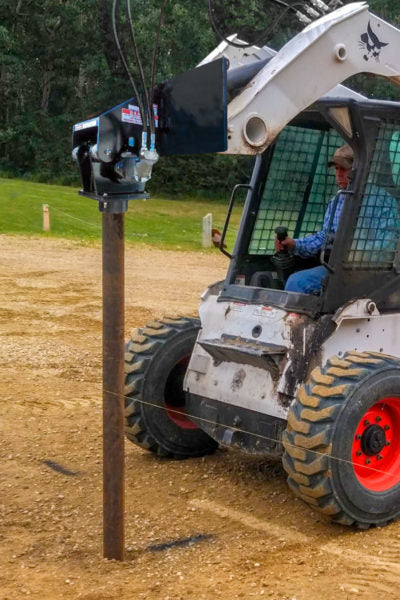 VIBE DRIVE Skid Steer Post Drivers