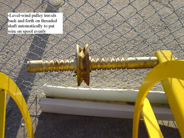 LEVELWINDER II BARB WIRE ROLLER/UNROLLER