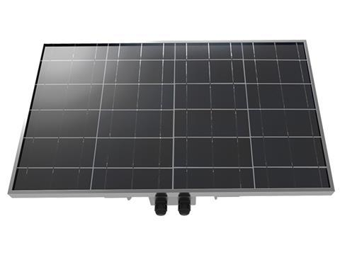 Gallagher 40 Watt Solar Panel with bracket Front