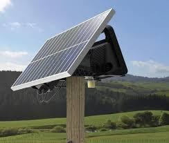 Gallagher 40 Watt Solar Panel with bracket In Field