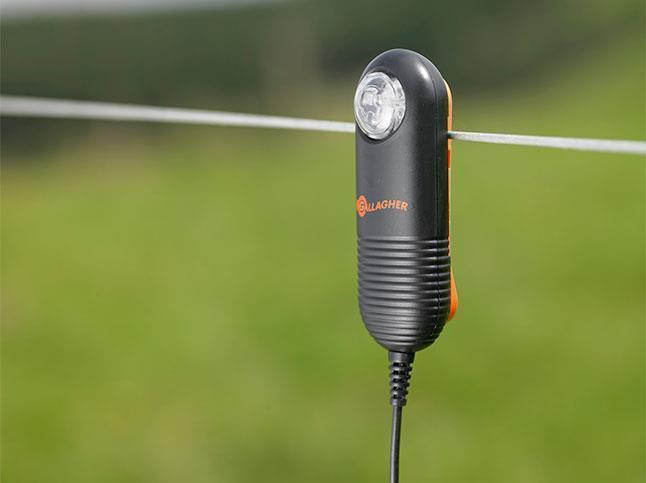 Gallagher Live Fence Indicator On Wire, Light Off