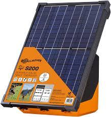 Gallagher Portable Solar Fence Energizer S200 Case