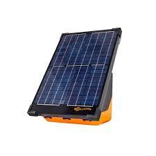 Gallagher Portable Solar Fence Energizer S200
