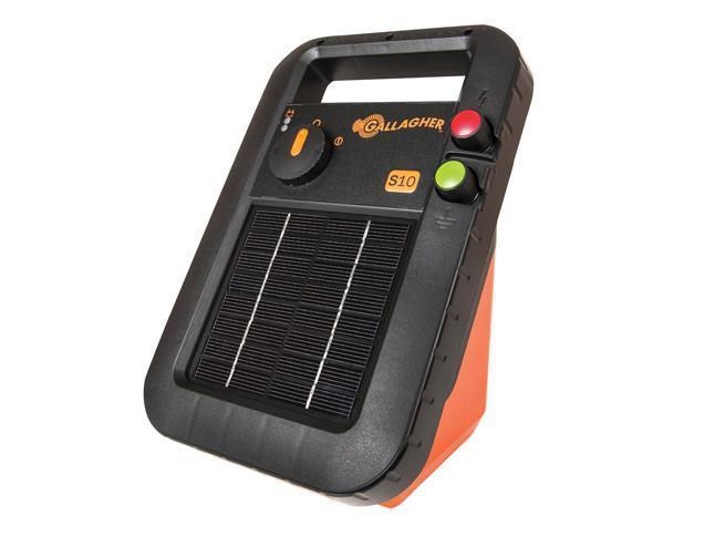 Gallagher S10 Portable Solar Fence Energizer