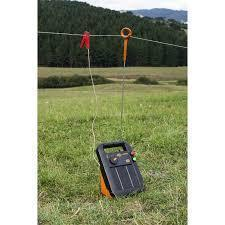 Gallagher S20 Portable Solar Fence Energizer Setup