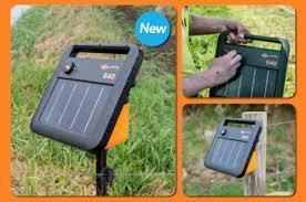 Gallagher S40 Portable Solar Fence Energizer Different Setups