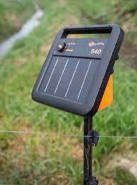 Gallagher S40 Portable Solar Fence Energizer T Post