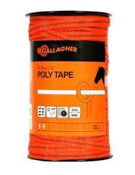 "Gallagher 12.5mm (1/2"") Poly Tape"