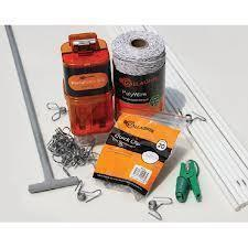 Gallagher all in one garden fence kit