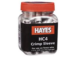 Hayes HC4 9-8 Ga Crimp Sleeves