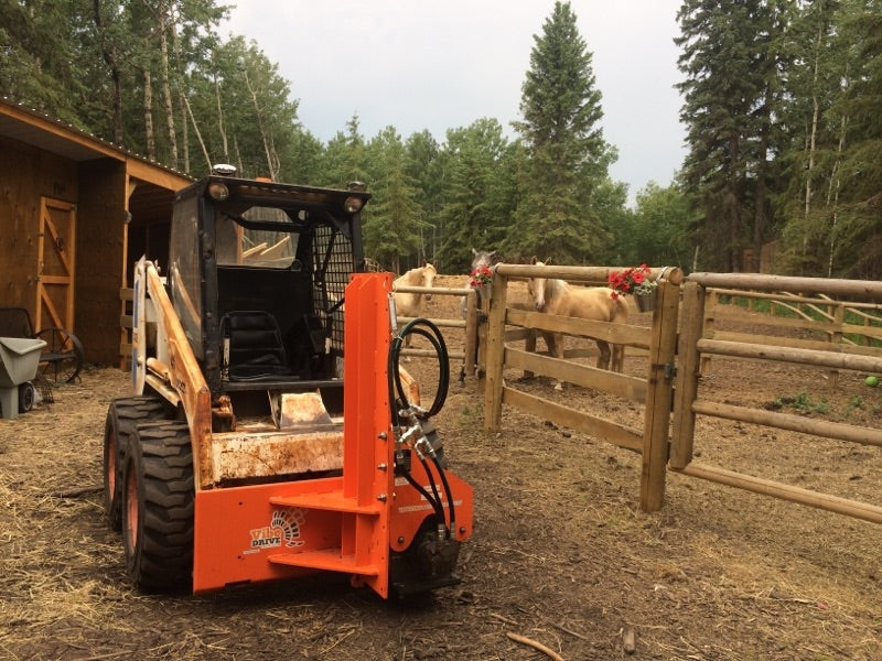 VIBE DRIVE 120 Series Skid Steer Post Drivers