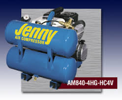 Jenny® Hand Carry Gas powered Air Compressor