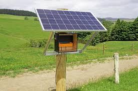 MBS2800i Gallagher Fence Energizer Solar Mount