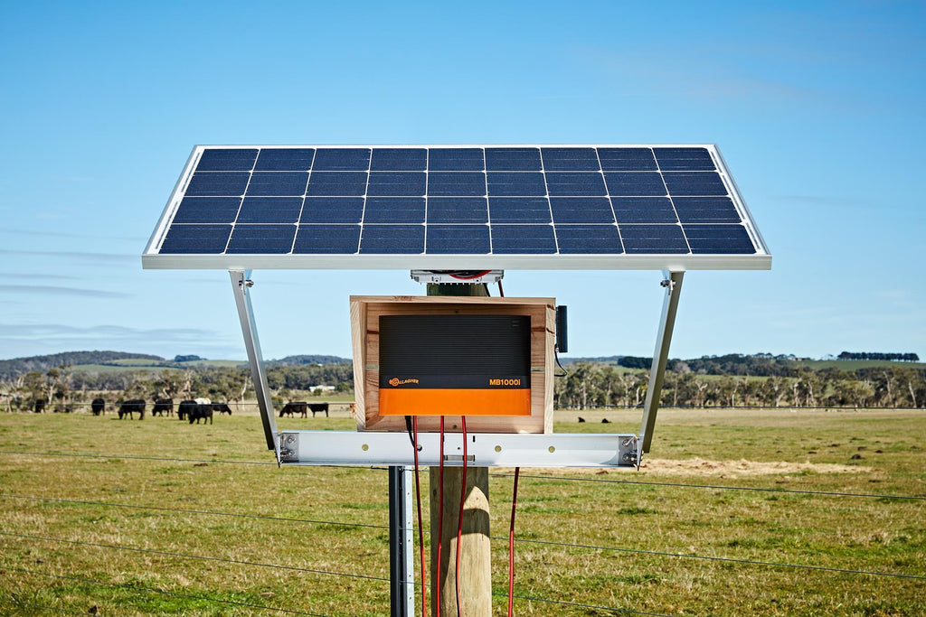 MBS2800i Gallagher Fence Energizer Solar