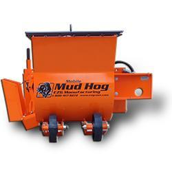 EZG 4 cu ft Mobile Mud Hog