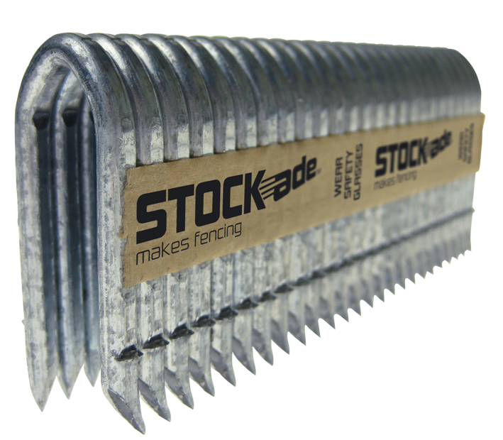 STOCKade ST400 Pneumatic 4mm (9 gauge) Barbed Fence Staples