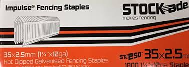Stockade ST250 or Paslode 200S Impulse Fence Batten staples
