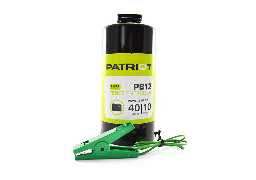 Patriot PB12, Battery Fence Energizer